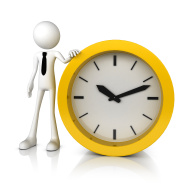 stock-photo-27621611-3d-business-man-stand-with-yellow-clock